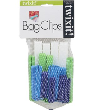TWIXIT BAG CLIPS SEASON COLORS