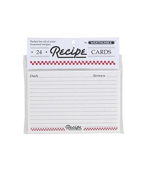 RECIPE CARDS 4 X 6