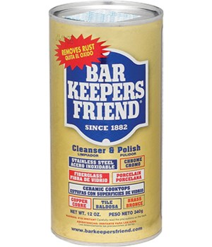 BAR KEEPERS FRIEND POWDER 12OZ