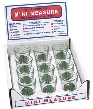 MINI MEASURE GREEN DISP/12