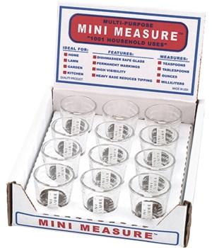 MINI MEASURE WHITE DISP/12