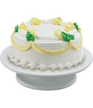PLASTIC REVOLVING CAKE