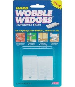 WOBBLE WEDGES 75 SETS OF 4