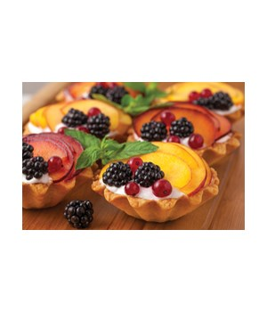 2.75 in. FLUTED DOME TARTLET S/4