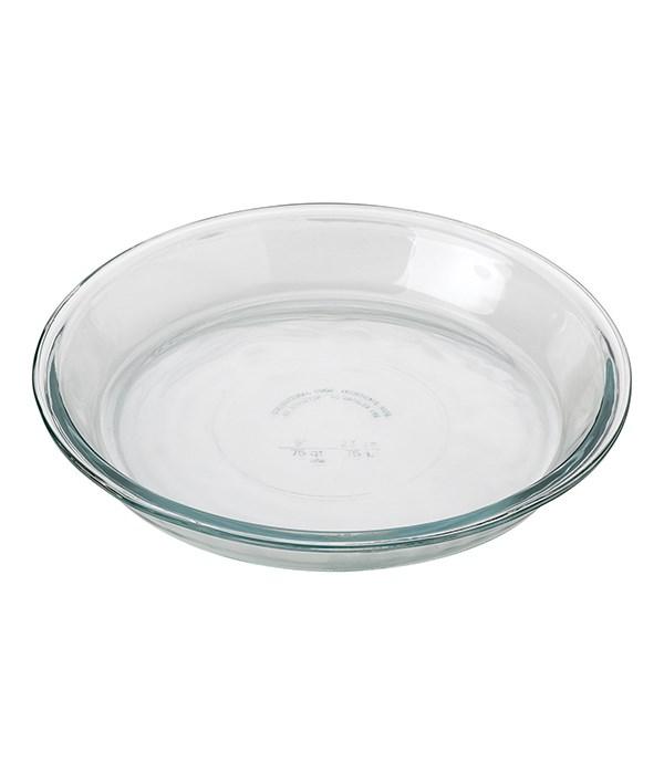 PIE PLATE 9 IN. GLASS MIN/6