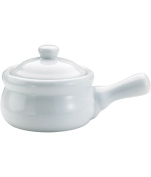 ONION SOUP CROCK W/ LID SET/4