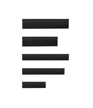 BLACK EDGE GUARD SET/5