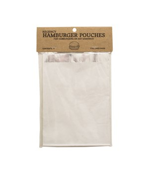 HAMBURGER POUCHES S/6