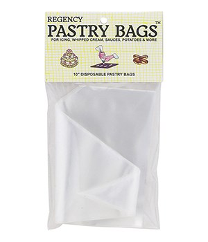 PASTRY BAGS 10 in. 6/PK