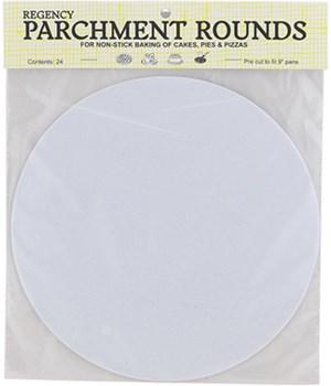 PARCHMENT RNDS PRECUT 9 in. 24/PK