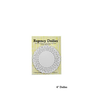 4 in. ROUND PAPER DOILIES CD/18