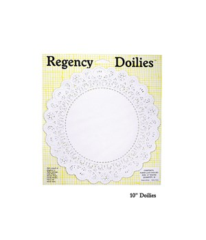 10 in. ROUND PAPER DOILIES CD/18