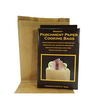 PARCH PAPER COOKING BAGS S/4