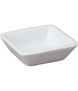 SOY DISH SQUARE WHITE