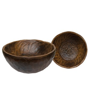 Treenware Small Carved Bowl 7 in.
