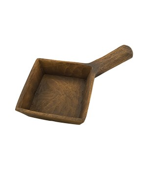 Square Scoop - Stain