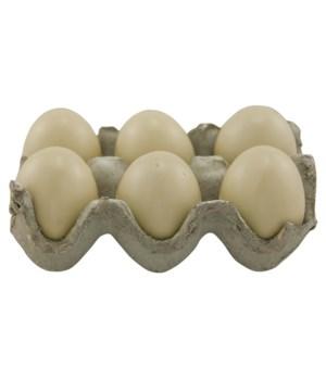 Resin Egg - White