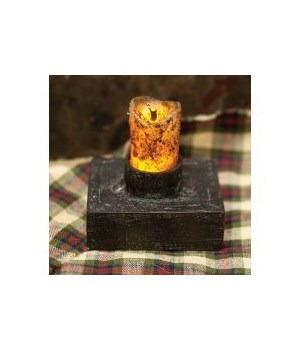 Primitive Drip Nook BOC Candle - Timer 2.25x 2 in.