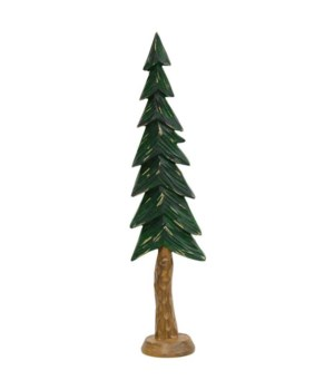 Resin Carved Alpine Tree, 12  .. 60 in.