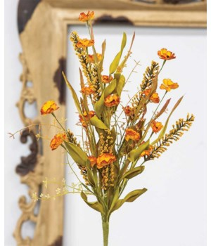 Autumn Goldenrod Wildflower Spray 24  h x 7  w x 7  dp. in.