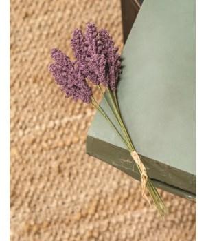 M20 Icker Flower Bouquet, 12 , Purple 12 l in.