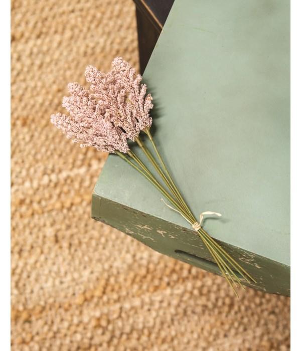 M20 Icker Flower Bouquet, 12 , Light Pink 12 l in.