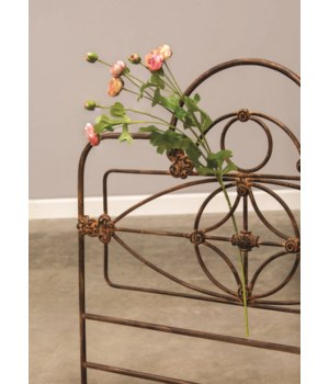 Rose Blooms Spray, 33 , Blush 33 l, flowers are 1 -2  in.