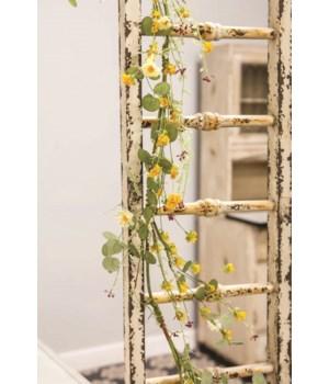 Yellow Wildflowers Garland, 5ft