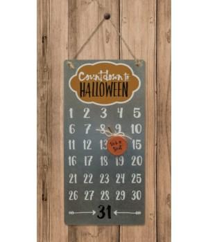 Countdown to Halloween Calendar 12h x 5.75w in.