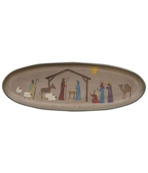 Oh Holy Night Tray 7h x 20w in.