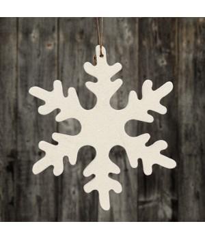 Medium Snowflake Ornament 6 in.