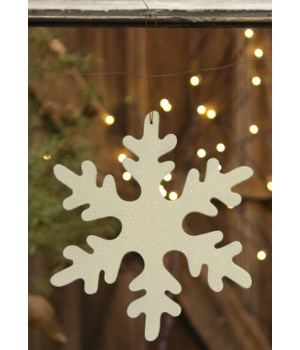 Large Snowflake Ornament 10 in.