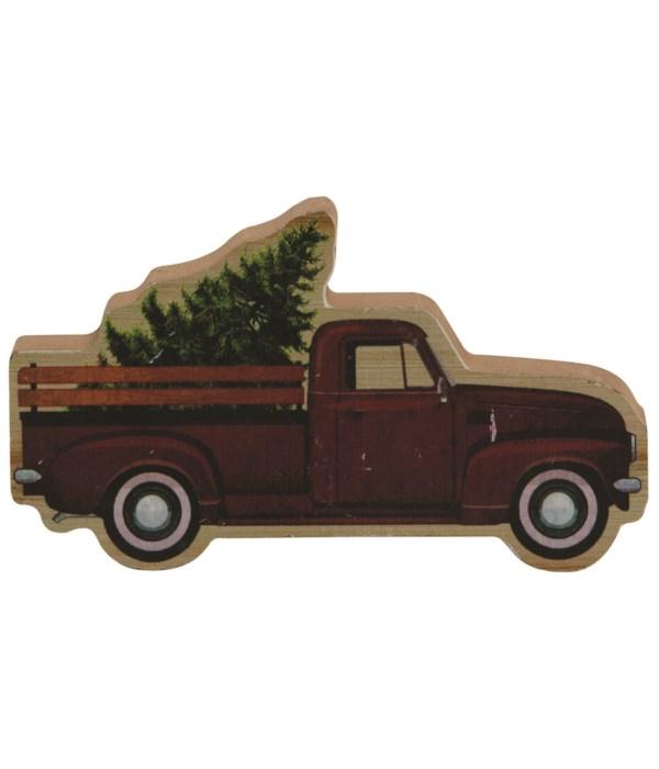 Fresh Cut Tree & Truck Wood Sitter