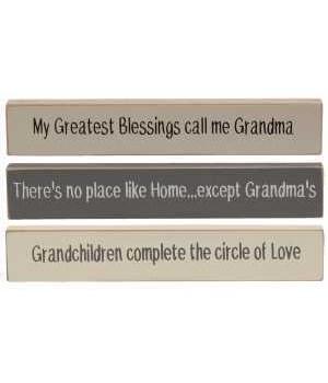 M18 Grandma Farmhouse Colors Mini Stick, 3 Asstd.
