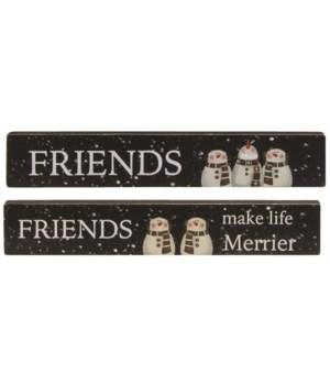 M18 Friends Make Life Merrier Mini Stick, 2 asstd.
