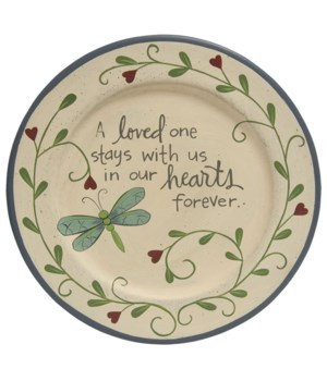 Loved One Dragonfly Plate 11.5 in.