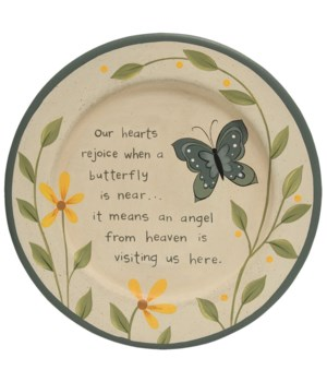 Loved One Butterfly Plate