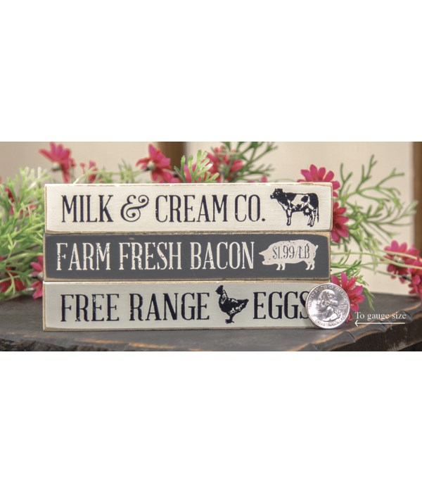 M18 Farm Fresh Bacon Mini Stick, 3 Asstd. .5 x 6. x1 in.