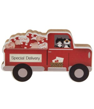 Special Delivery Chunky Truck 4.75 l x .75  dp x 2.75h in.