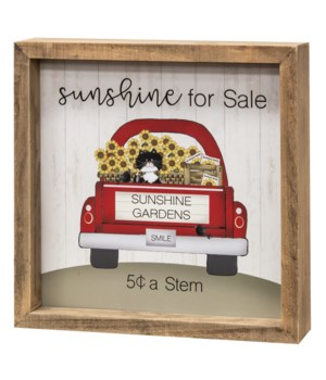Sunshine Gardens Frame 8 sq x 1.5 dp in.