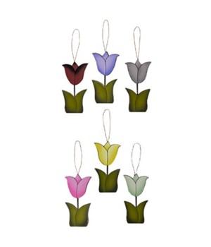 6/Set, Springy Tulip Ornaments