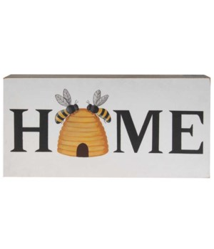 Beehive Home Box Sign 11.75 l x 2  Dp x 6 h in.