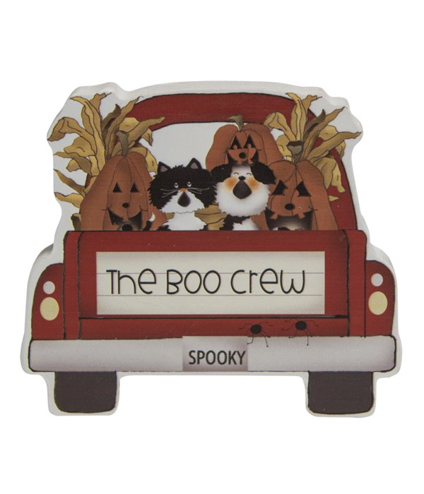 The Boo Crew Chunky Pet Truck Sitter