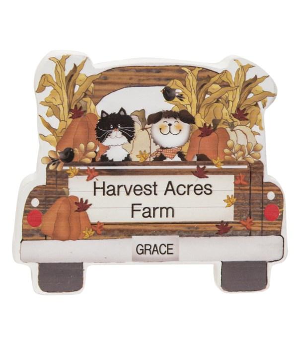 Harvest Acres Farm Chunky Pet Truck Sitter