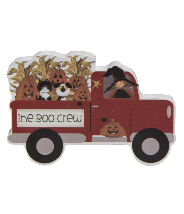 The Boo Crew Chunky Wooden Truck