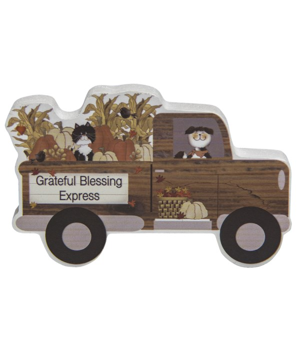 Grateful Blessing Express Chunky Wooden Truck