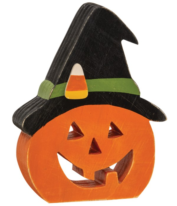 Witchy Jack O Lantern Chunky Sitter