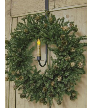 Adjustable Decorative Hanging Holder w/Wreath Hook