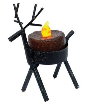 Reindeer Tealight Holder - Small 4.75 x 3.5 in.