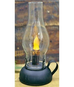 Library Lantern - Black - BOC Timer 8.75 x 4.5 in.